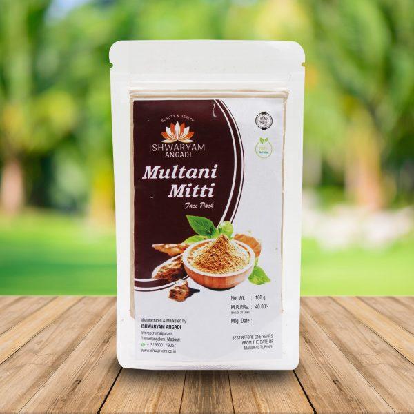 Multani Matti Face Pack 100g 1